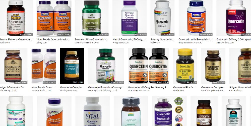 quercetin-pills